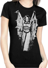 Lily Munster Wings | FITTED T-SHIRT
