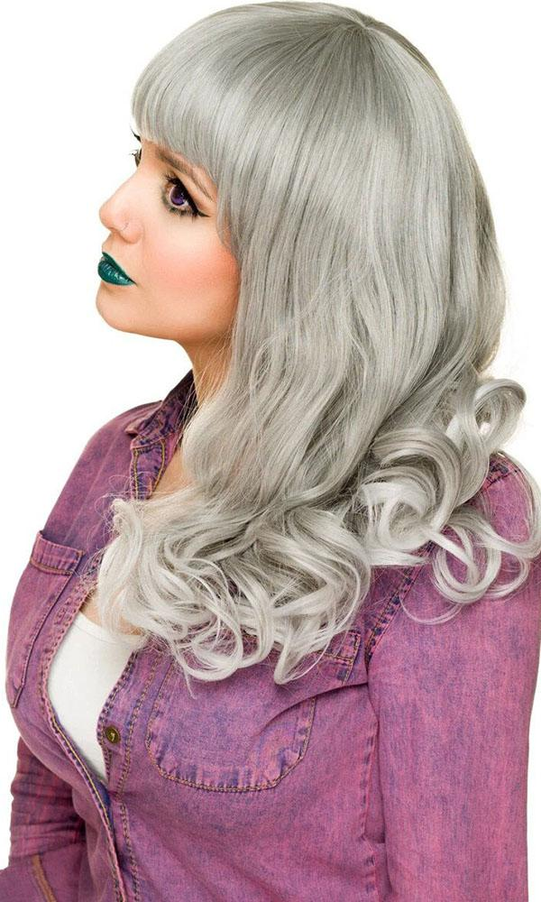 Bang Bang Collection Grey Silver Fade | WIG
