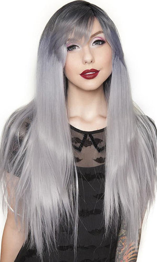 Bella Dark Root [Silver] | WIG