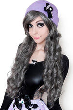 Pewter Grey Wig