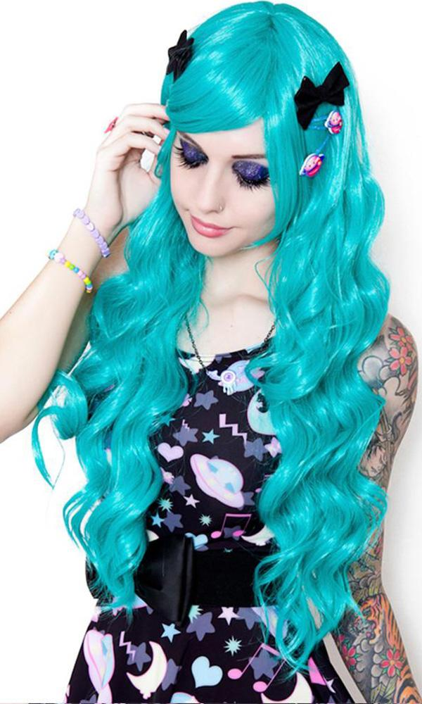 Classic Wavy [Teal] | WIG
