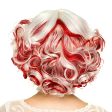 Curly Bob Red & White Blend | WIG*