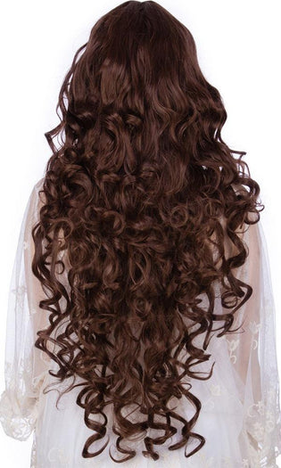 Curly Brown Mix | WIG
