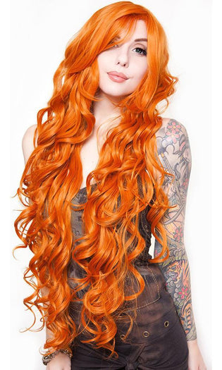 Curly Orange | WIG