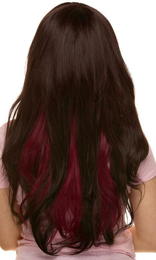 Downtown Girl [Chocolate & Burgundy] | WIG^