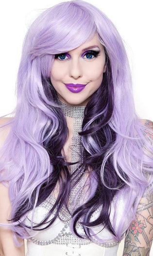 Downtown Girl [Lavender & Black Plum] | WIG