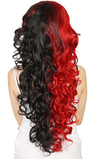 Duchess Elodie [Black & Crimson] | WIG