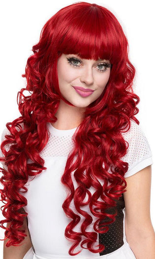 Duchess Elodie Crimson Red | WIG*