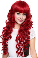 Duchess Elodie Crimson Red Wigs