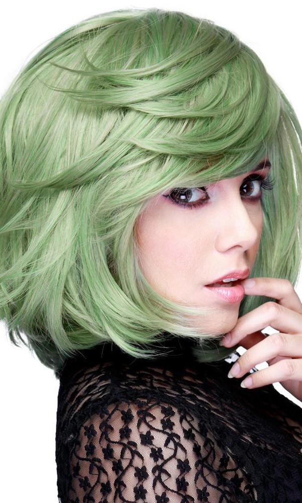 Hologram Dark Mint Mix | WIG [12 INCH]