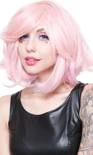 Hologram Powder Pink | WIG [12 INCH]