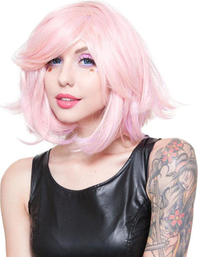 Hologram Powder Pink | WIGS [12 INCH]