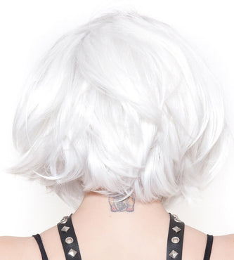 Hologram White Wigs