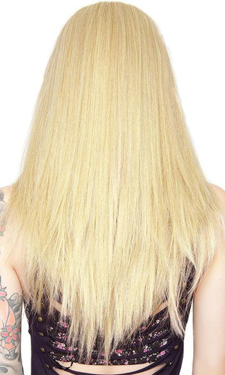 Lace Front Long Straight [Light Blonde Mix] | WIG [24 INCH]