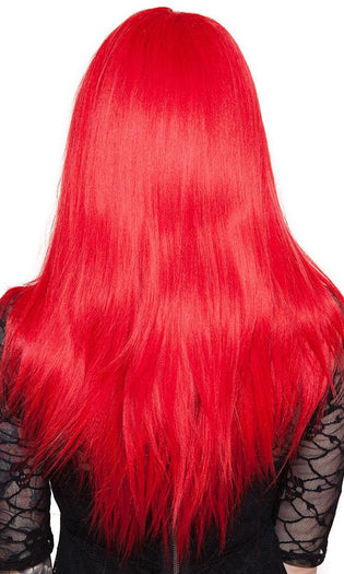 Lace Front Long Straight [Red Mix] | WIG [24 INCH]