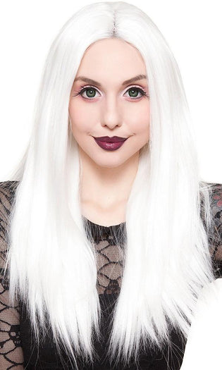 Lace Front Long Straight [White] | WIG [24 INCH]^