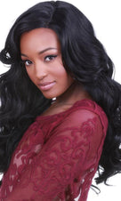 Lace Front Peek-A-Boo Black | WIG