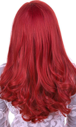 Lace Front Peek-A-Boo Henna Red | WIG