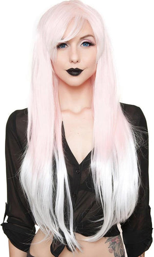 Ombre Alexa Pink To White Fade | WIG^