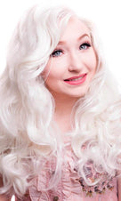 Lace Front Peek A Boo Platinum Blonde | WIG