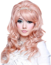 Princess Collection Peach Wigs