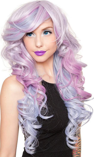 Triflect [Periwinkle Rose] | WIG