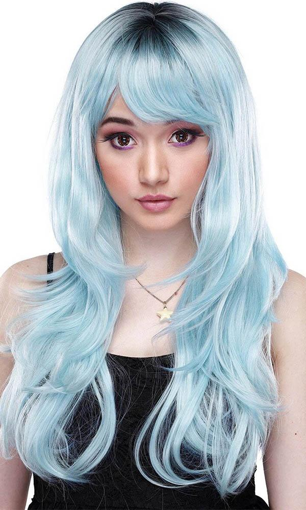 Uptown Girl Baby Blue | WIG
