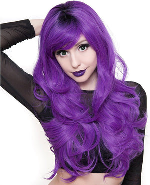 Uptown Girl [Purple] | WIGS