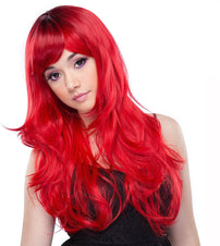 Uptown Girl Red Mix Wigs