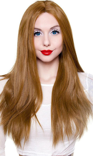 Yaki Straight [Medium Brown Blend] | WIG