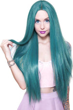 Turquoise Mix Wigs