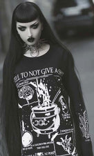 A Spell To Not Give A Sh*T | LONG SLEEVE TEE