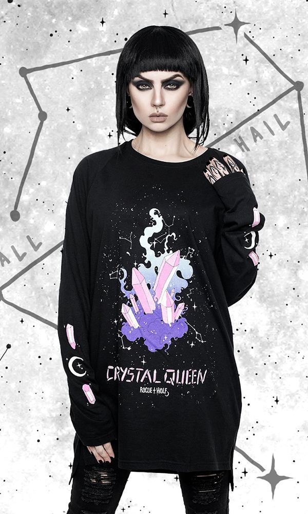 Crystal Queen | LONG SLEEVE TEE