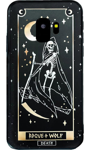 Death Tarot Gold | PHONE CASE