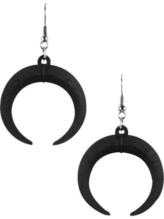 Eclipse | EARRINGS [BLACK]