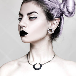 Eclipse | NECKLACE [BLACK POLYMIDE]