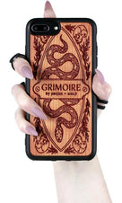 Grimoire [Cherry Wood] | PHONE CASE