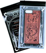 Herbology [Rose Wood] | PHONE CASE