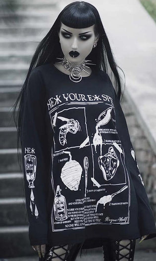 Hex Your Ex Spell | LONG SLEEVE TEE