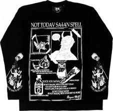 Not Today Satan Spell | LONG SLEEVE TEE