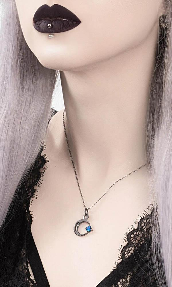Selene [Black Sterling Silver] | NECKLACE
