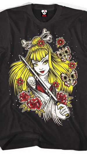 Samurai Girl | T-SHIRT