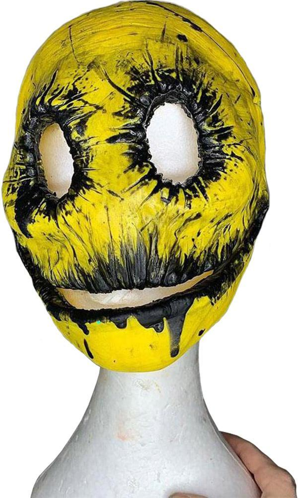 Mr Smiley Yellow & Black | MASK