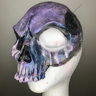 Skull [Pearl Purple] | FACE MASK