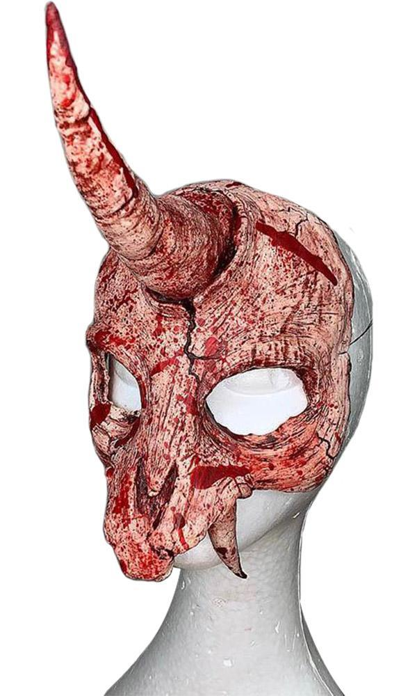 Unicorn Skull Blood Splatter | MASK