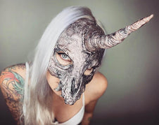 Unicorn Skull Rose Gold | MASK