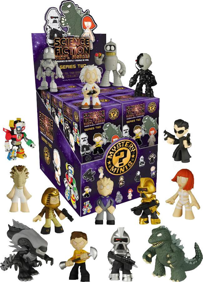 Sci-Fi Series 2 Mystery Minis Blind Box