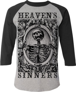Heavens Sinners Baseball | TEE MENS