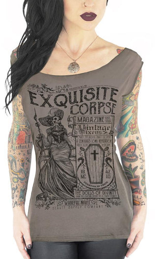 Exquisite Corpse | OFF SHOULDER TEE