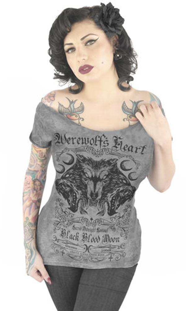 Werewolf's Heart | OFF SHOULDER TEE